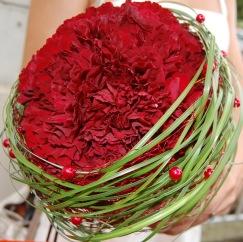Brautstrauß Nelken