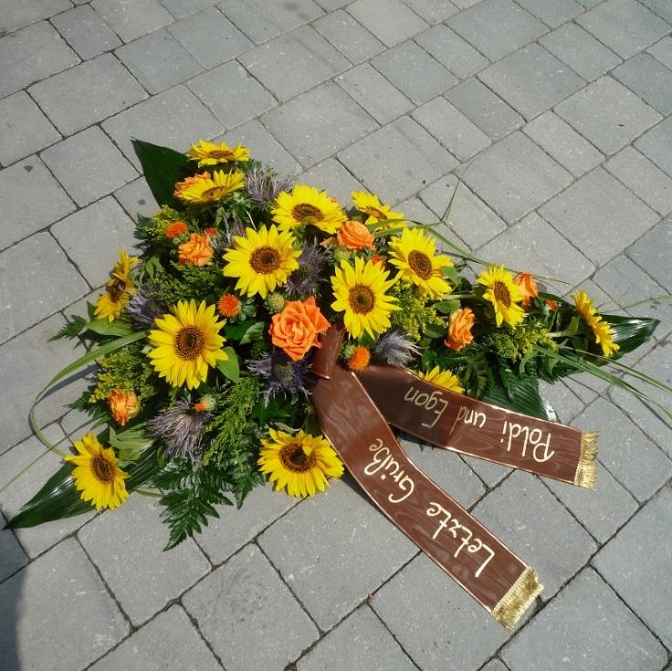 Bukett Sonnenblumen