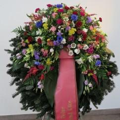 Kranz Sommerblumen