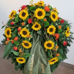 Kranz Sonnenblumen
