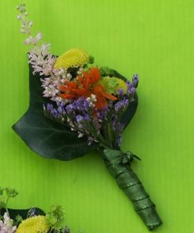 Anstecker Wiesenblumen