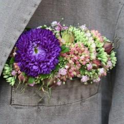 Florales Stecktuch