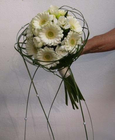 Brautstrauß Mini Gerbera