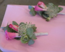 Anstecker in rosa